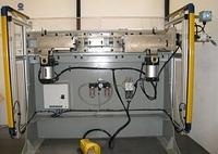 Master-Slave SG4 light curtain on Crimp Press